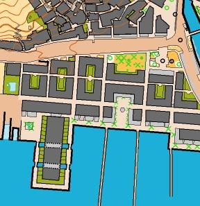 Mapa de orientación de Mogán Playa - orientación Canarias